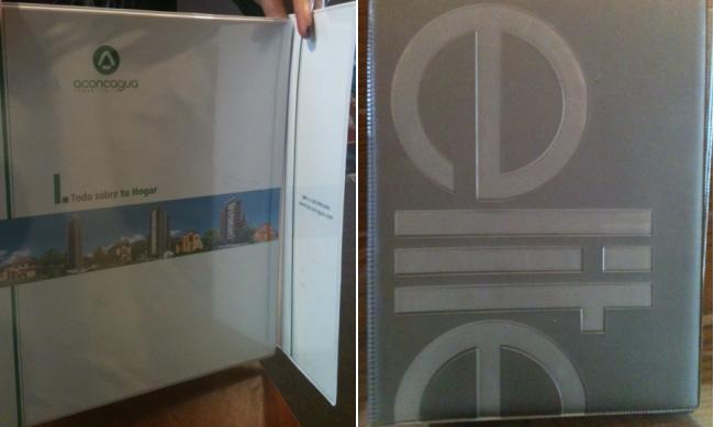 carpetas corporativas archivadores book de fotos