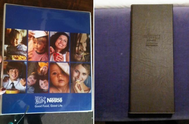 porta credenciales folders fotos book