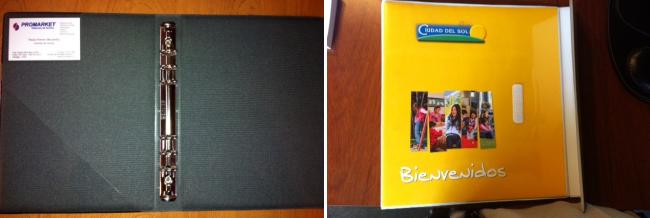 Archivadores Fotos de book Folders Porta credenciales Porta fotos